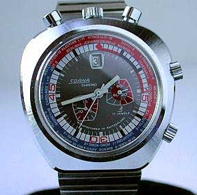 Watchismo times vintage bullhead chronographs like it on top for Watchismo