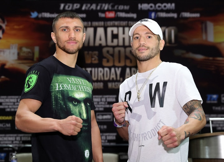 Image result for lomachenko sosa