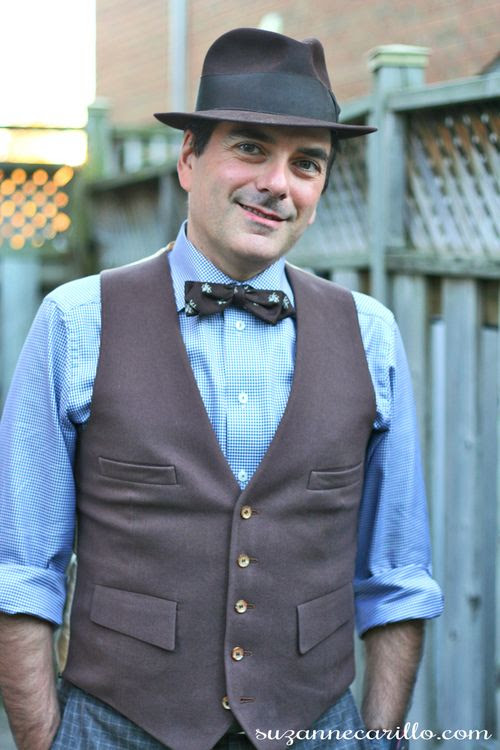 how to mix vintage clothing with contemporary 1920's
