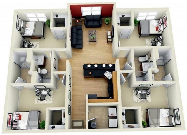 Gambar Membuat Desain Rumah 3d Dengan Coreldraw - Rumah XY