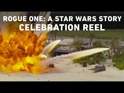 Star Wars Rogue One BTS & Star War Ceelebration Europe SWCE