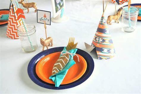 Kara's Party Ideas Tribal   Camping 1st Birthday Party