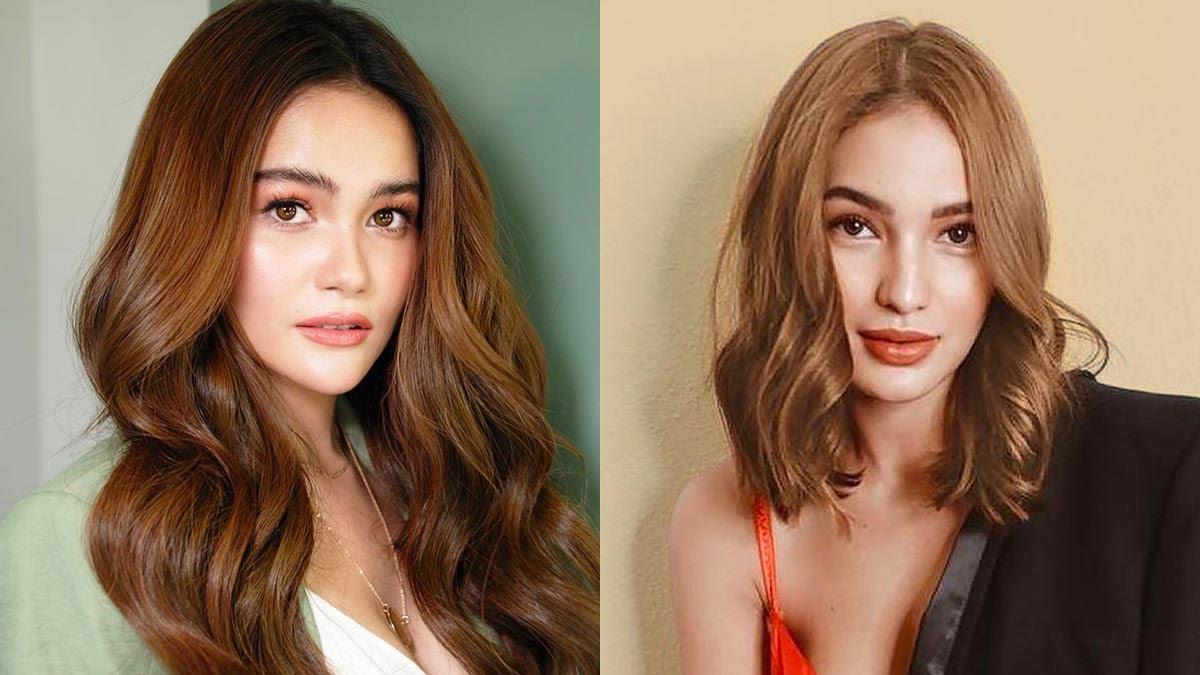 Why Caramel Brown Hair Color Is The Favorite Of Pinays