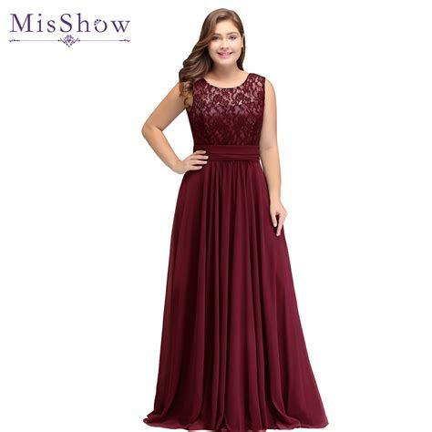 Evening Dress Plus size Sleeveleless Lace Chiffon evening