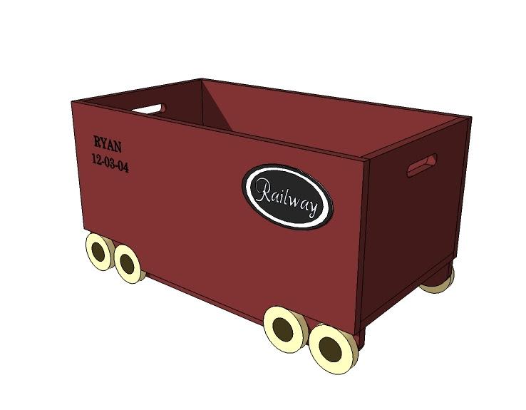 Car Toy Box Building Plans