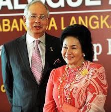 Rosmah and Najib
