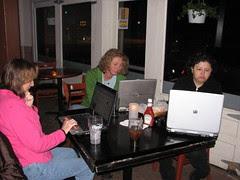 Bar blogging