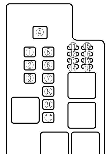 2000 Mazda 626 Fuse Box Diagram - Wiring Diagram Schemas