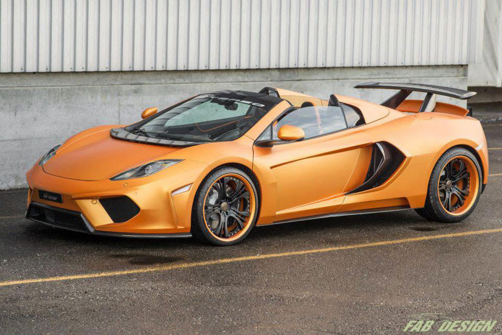 McLaren MP412C Spider Terso by FAB Design  eXtravaganzi