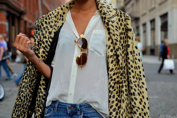 Inspiration: cold street style