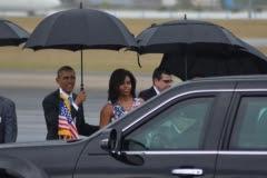 Obama en Cuba. Obama llegó a Cuba en la tarde de este domingo para realizar una histórica visita de tres días. (Foto: ACN)