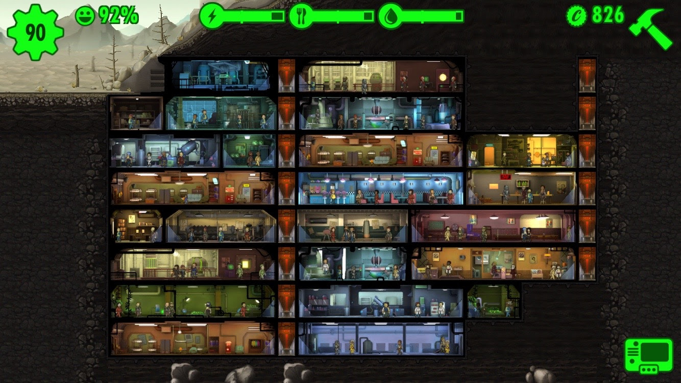 fallout shelter big vault