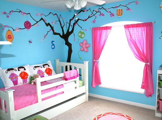 Painting Kids Rooms   Hirshfield's Color Club
