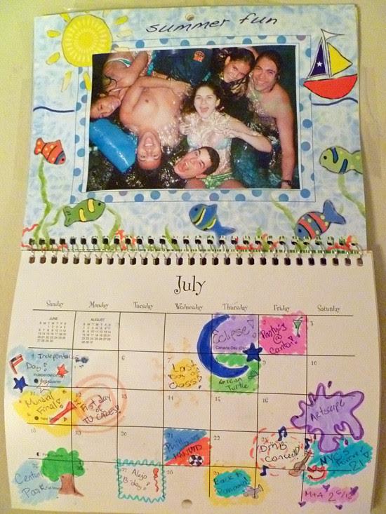 Calendar Craft - July
