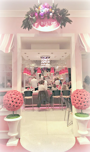 American Girl Cafe entrance