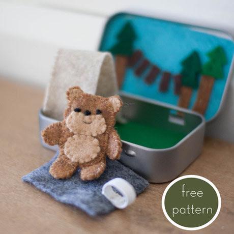 bear ewok altoid tin playset stocking stuffer