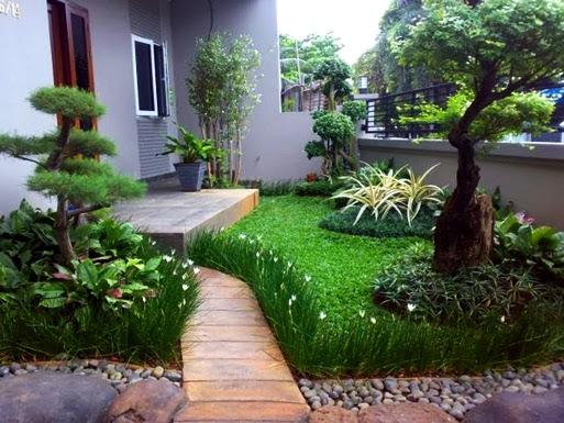 42 Desain Taman Depan Rumah Dengan Air Mancur Gratis