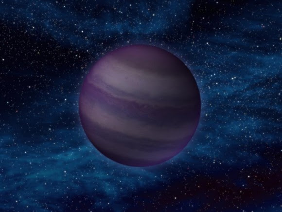Artist's impression of a Y-dwarf, the coldest known type of brown dwarf star. (NASA/JPL-Caltech)