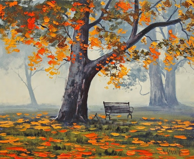 Graham Gercken 1960 -  Australian Impressionist Landscape painter - Tutt'Art@ (46)