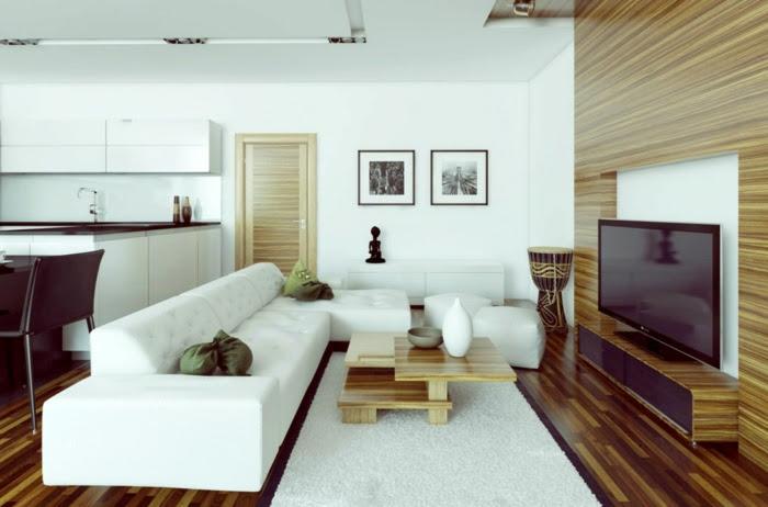 Kleines Wohnzimmer einrichten - Wie schafft man einen ...
