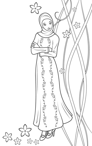 Download Fulla Doll coloring page   Free Printable Coloring Pages