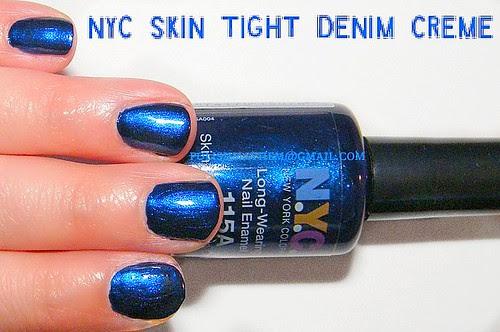 NYC Skin Tight Denim Creme