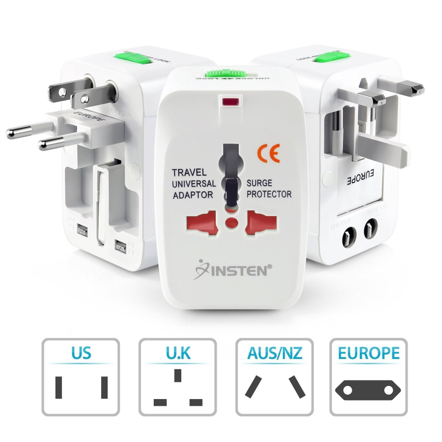 Universal World Wide Travel Charger Plug