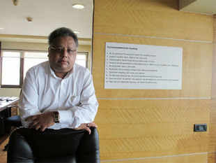 """You have got to experience market because something which cannot be taught has to be learned. I mean it is like cooking,"" says Jhunjhunwala. (BCCL)"