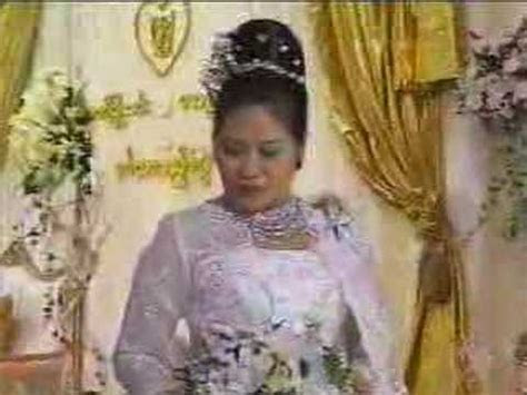 Myanmar Wedding of Burma Than Shwe's daughter   16of24