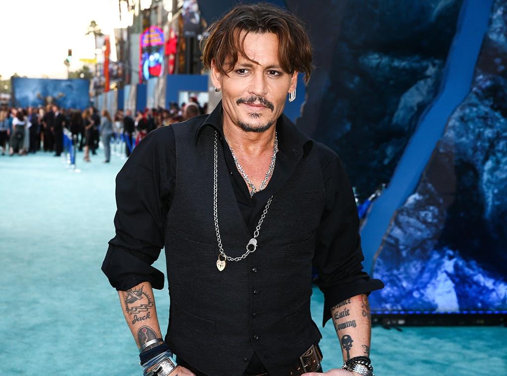 Johnny Depp, piratas do Caribe Homens mortos não contar nenhum conto, estréia