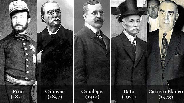 España, un largo historial de presidentes asesinados
