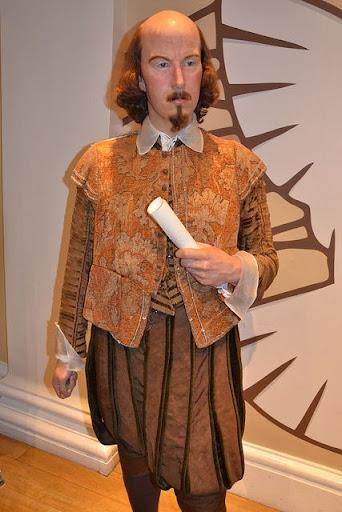 William Shakespeare - Museo Madame Tussauds de Londres, Inglaterra, R.U.