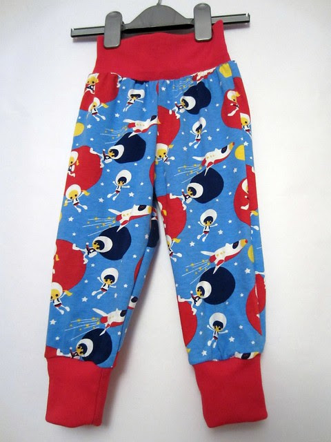blue astronaut trousers full