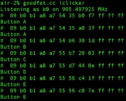 goodfet.cc iclicker