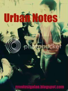 Blog Urban, Blog tentang Kota dan catatan personal
