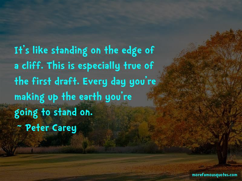Standing On The Edge Of A Cliff Quotes Top 15 Quotes About Standing