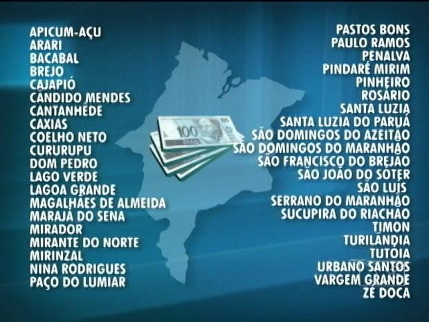 lista das prefeituras do MA envolvidas com agiotas