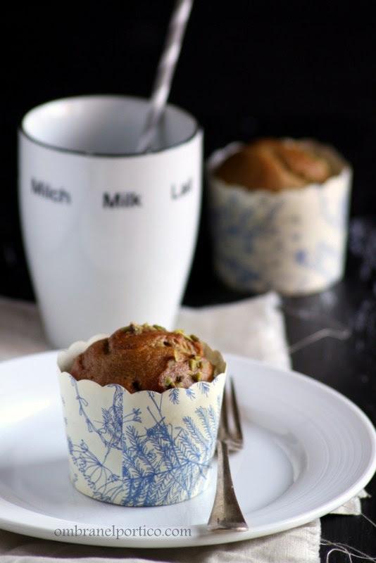 Mini cake ai pistacchi