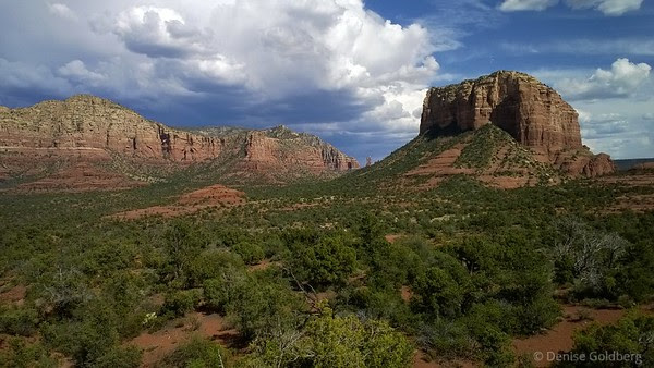 red rocks of Sedona, Courthouse Butte