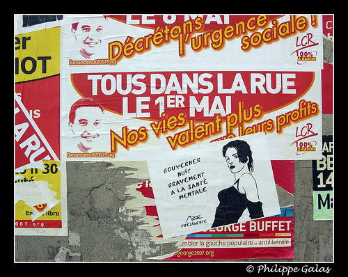 2007 - affiche de Campagne - Miss-Tic