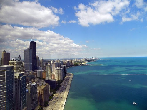 Chicago from Lake Point Tower