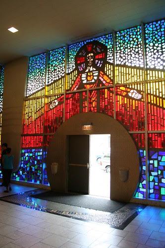 Saint John Bosco Church - side door