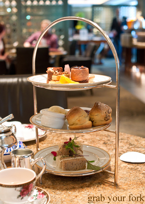 Johnny Iuzzini afternoon tea at The Langham Hotel Melbourne at the Melbourne Food and Wine Festival 2014