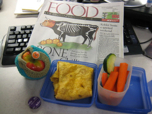 lunch with Food section of Milwaukee Journal Sentinel