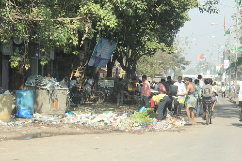 welcome to dharavi 90 feet road ..after garbage becomes 40 feet road by firoze shakir photographerno1