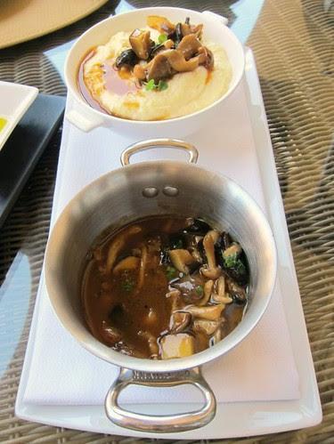 Polenta, Mushrooms