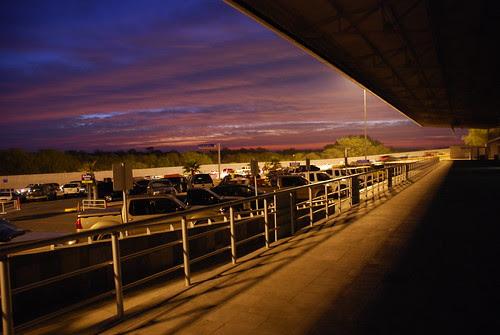 Amanece en la frontera, Reynosa, Mexico.