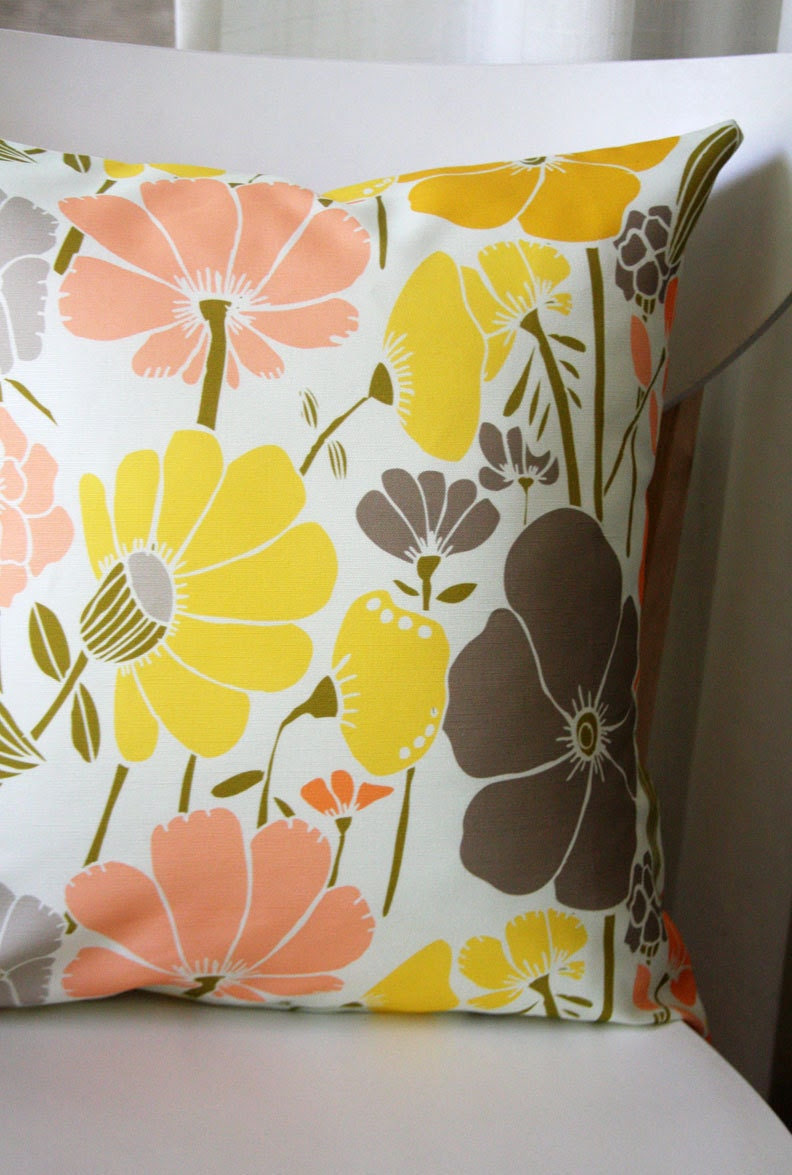 Jocelyn Removable Throw Pillow Cover