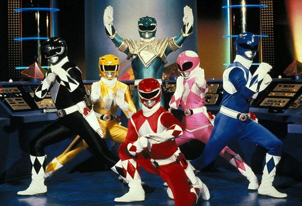 The original Rangers of MIGHTY MORPHIN POWER RANGERS.
