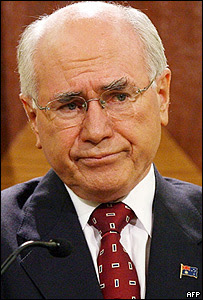 John Howard, primer ministro australiano